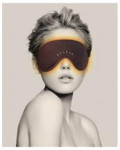 ブラウン●「温熱アイマスク」  一般医療機器○HCM-RH01
