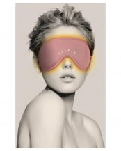 ピンク●「温熱アイマスク」  一般医療機器○HCM-RH01