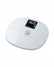 ホワイト●「体組成計」 Wi-Fi接続でデータを自動転送/7項目測定○HCS-WFS01WH