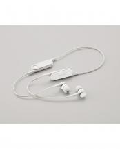 ストーンホワイト●「Bluetooth イヤホン」  FASTMUSIC/bund/リモコンマイク付き○LBT-HPC14MP