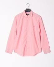 ピンク●ハイブリッドリネンミックスシャツ○51M17116