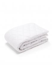 ホワイト●ウール90% ウォッシャブル ベッドパット セミダブル○WBP-2