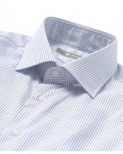 ネイビー●RG グラフチェックセミワイドシャツ ナノ・ユニバースメンズ(オリジナル)○6689120008