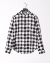 BLACK YD●AF LS Cot Lin Ombre Shirt BLAC○TB0A1LWQB231