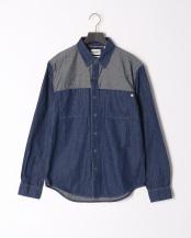 Eclectic Denim GB●AF LS Mumford Dnm Shirt Eclect○TB0A1LXPL711
