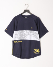 NAVY●WATER WARRIOR MESH DRY T-SHIRT○10111-10364
