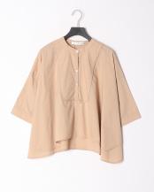 21/茶系B(ベージュ)●綿100% Aライン ドレスシャツ○81190104