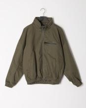 khaki●ドロップスタンドカラージャケット○NDO-919