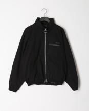 black●ドロップスタンドカラージャケット○NDO-919