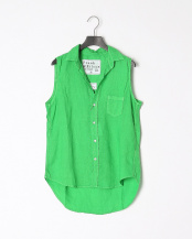 olive●shirts(布帛)/レザー○2510700782