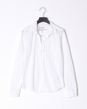 white●shirts(布帛)/レザー○2710700096