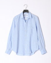 lt blue●shirts(布帛)/レザー○2710700301