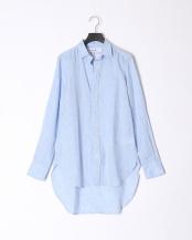 lt blue●shirts(布帛)/レザー○2710700309