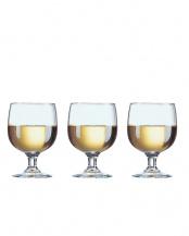 アメリア ワイングラス 190mL 3個セット○E5168