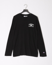 Black●【CHAMPION_19SS】ATHLETICS LS TEE○194078001003