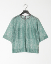 MINT GREEN●LACE TEE○19SMSCU65