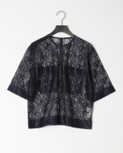 NAVY●LACE TEE○19SMSCU65