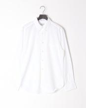 WHITE●GIZA88 100/2 ブロードBASIC BDシャツ○BASIC-MK-041