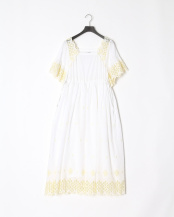 YELLOW●LACE DRESS○03192951