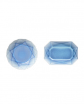 ブルー(ラウンド)×ブルー(オクタゴン)●ARITA JEWEL 2P セット○FL06-02001