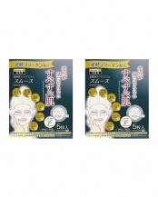 発酵コラーゲン美容液マスク 毛穴スムース 10枚○4935137804398×2