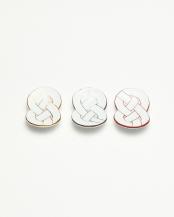 金銀赤結び トリオ箸置○4965089871377