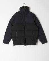 ブラック● GERRY別注 テントツイル 配色 ダウンジャケット○09020136