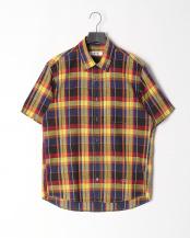 イエロー●マドラスチェックシャツ○316P5310