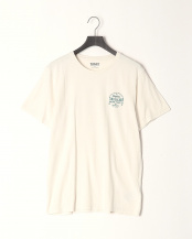Picket Fence●AF Update - SS Back Graphic Brand Carrier Tee○TB0A1NHH1301