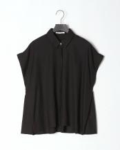 ブラック●オーバーサイズサイドタックシャツ○11071