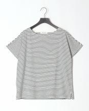 ネイビー●ボーダーフレンチTシャツ○20966