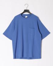 BLUE●MILITARY FRAISE CREW NECK S/S TEE○MA-C-047