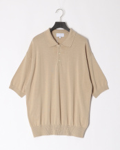 BEIGE●ALL TIME KNIT SS POLO○MA-K-013