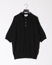 BLACK●ALL TIME KNIT SS POLO○MA-K-013