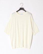 WHITE●ALL TIME KINT SS CREW○MA-K-014