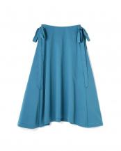 グリーン1●サイドリボンフレアスカート R/B(オリジナル)○6008134021