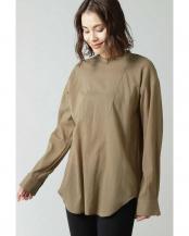 ベージュ●ドレスシャツブラウス R/B(オリジナル)○6000110005