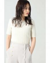 ホワイト●バックオープンTシャツ R/B(オリジナル)○6000113047