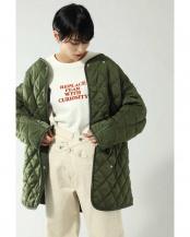 カーキ リバーシブルキルティングジャケット R/B(オリジナル)○6000120005