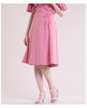 ピンク1 《Maglie collection》サイドレースアップスカート《Prime flex》 ef-de○5192152246