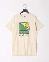 NATURAL●OFFSHORE COLOR LOGO S/S○OS18-2CS-001