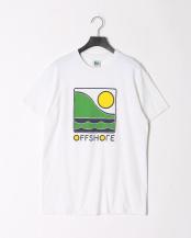 WHITE●OFFSHORE COLOR LOGO S/S○OS18-2CS-001