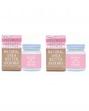 ナチュラルシアバターヘアワックスS チェリーブロッサムの香り 2個セット○4582216771326×2