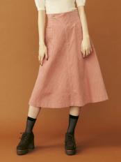 ピンク●コールAラインスカート dazzlin○021950802001