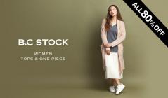 B.C STOCK WOMEN TOPS & ONE PIECE ALL 80%OFF(ベーセーストック)のセールをチェック