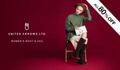UNITED ARROWS WOMEN'S BOOT&ACC(ユナイテッドアローズ)のセールをチェック