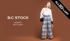 B.C STOCK WOMEN BOTTOMS ALL 80%OFF(ベーセーストック)のセールをチェック