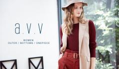 a.v.v Women -OUTER &  BOTTOMS & ONEPIECE-(アーヴェヴェ)のセールをチェック
