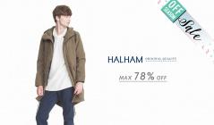 HALHAM_OFF SEASON ITEM_APPARELのセールをチェック