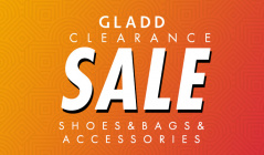 GLADD CLEARANCE SHOES&BAGS&ACCESSORIESのセールをチェック